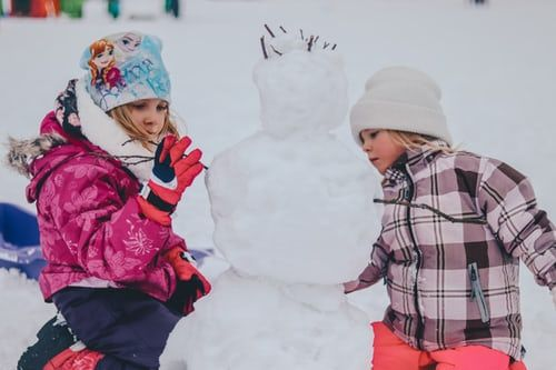 Speech and Language Snowman Activity