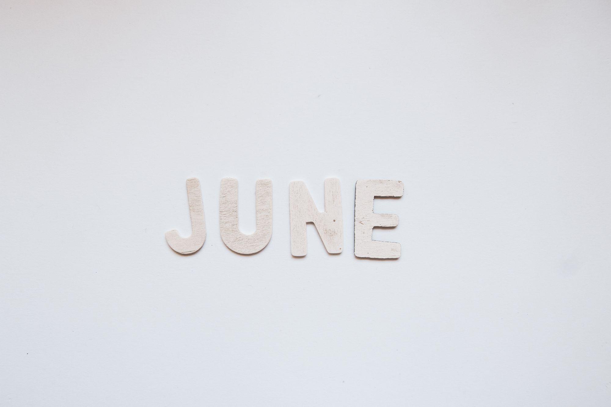 June Calendar Activities