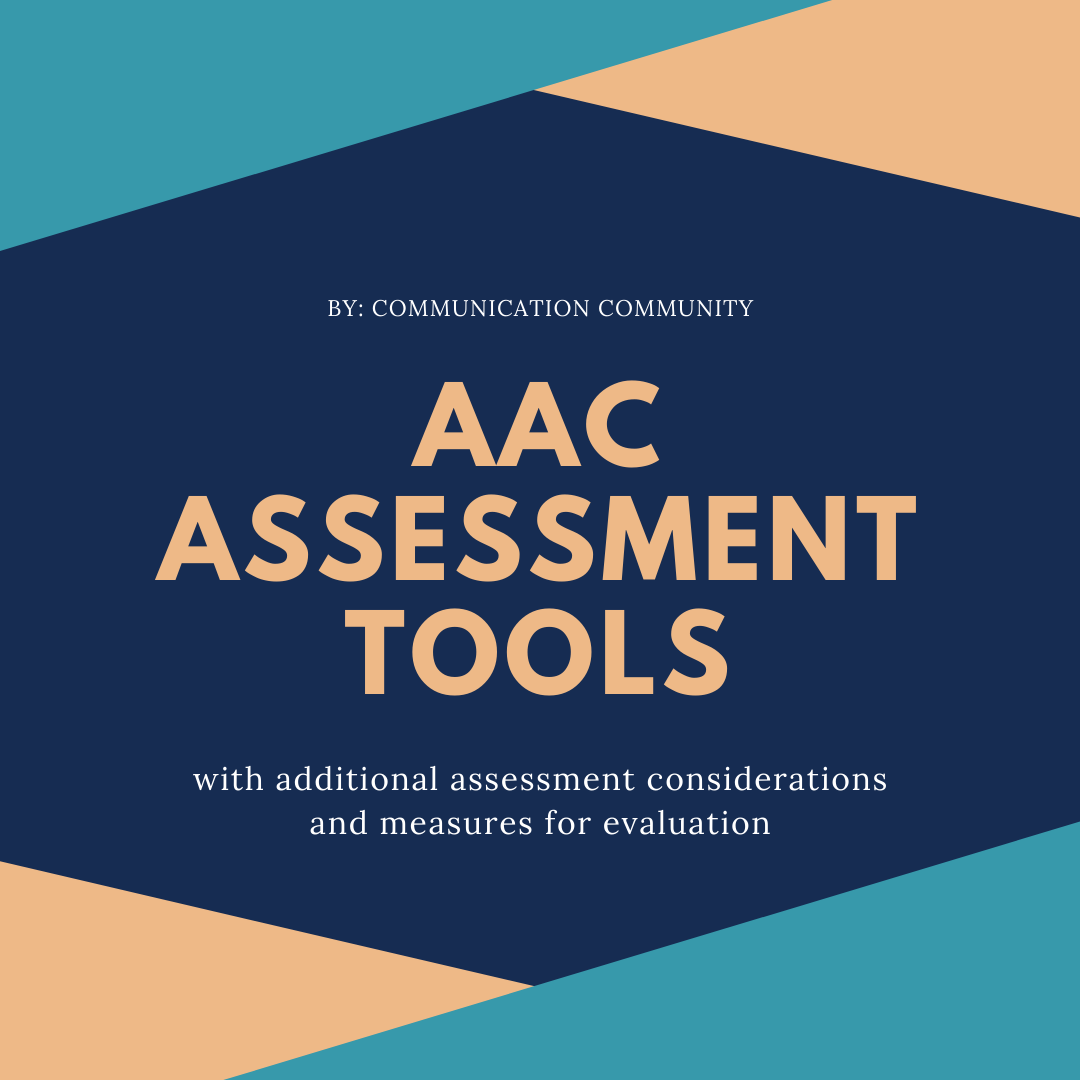 AAC Assessment Tools